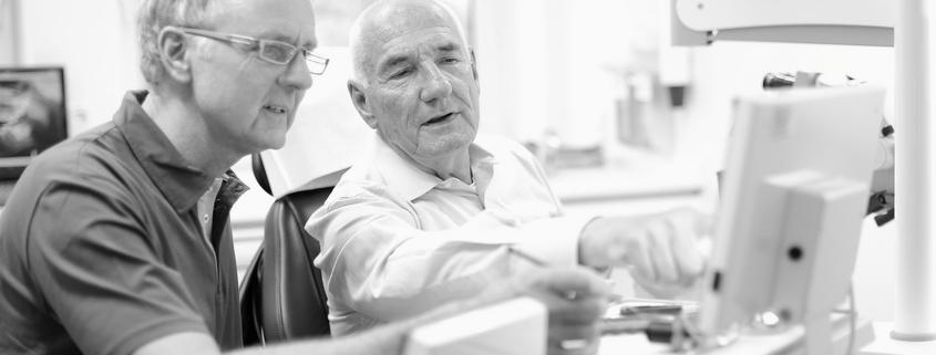 Patientenberatung und Aufklärung in der Praxis Dr. A. Gauchel, Düsseldorf
